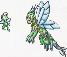 Fake Celebi Evolution by Rijolt