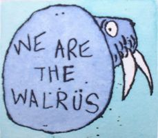 We are the walrus by art4oceans