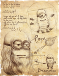 Da vinci Minion by Exubiuz