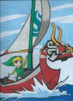 The Legend of Zelda: The Wind Waker by gurrenlagann29