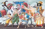Pirates Affiliated with a Straw Hat by TheSteveYurko