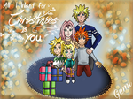 Narusaku family Holidays picture by B-Gemini