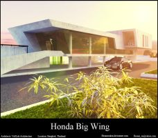 Honda Big Wing by hesamsaken