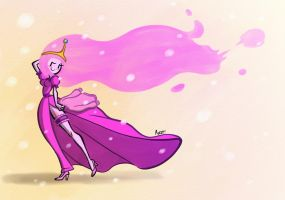 Princess Bubblegum by MojoT