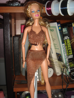 Chainmaille Barbie doll by montanaflash23