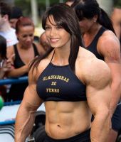 Freida Pinto Muscle Morph by Turbo99