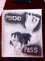 Psycho Pass by LoveCherryBlossom