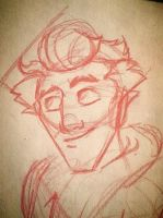 Rough Drawing of ''Josh'' by adrians-angel