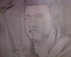 Zatoichi Sketch by ZeroSnake