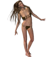 STOCK PNG an elf maybe 4 by MaureenOlder