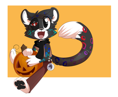 [YCH]  Happy Halloween! by Void-Shark