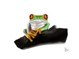 Frog by BrenoAxe
