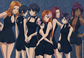Girls Bleach by ioshik