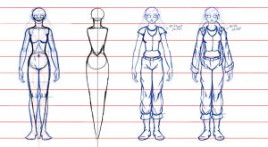 Model sheet Shape-Fashion by DisneyFan-01