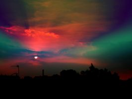 Colourfull sunset by ViperKid89
