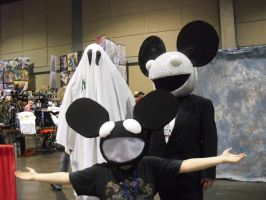 dead...mice? at Naka-Kon by MadeCheaply