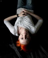 Orange haired girl II by LonelyBard