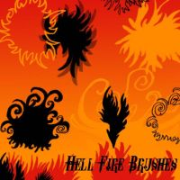 Hell Fire Brushes by Red--Roses