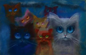 Cats by Galaartis