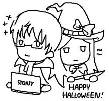 APH - Happy Halloween by headbutt-of-love