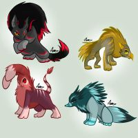 Creature adopts (closed) by Ginace