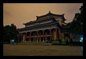 Night San Yat Sen Hall by WiDoWm4k3r