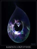 Illusions In A Drop Of Water by Brigitte-Fredensborg