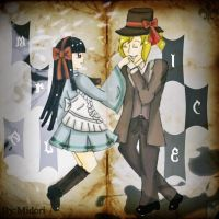 Mr. Alice Parodia - Alice y Mederic by MidoriKuro-chan10