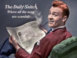 The Daily Snitch by LarsLasse
