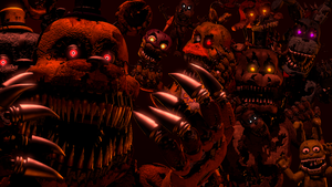 Thank you For Bringing Us Home ( fnaf sfm ) by JR2417