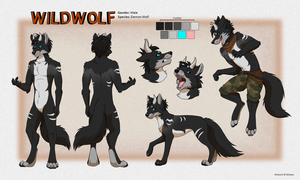 WildWolf Reference by Silvixen