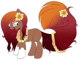 Hawaiian pony FIRST COME FIRST SERVE [CLOSED] by BlackFreya