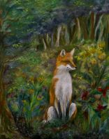 Red Fox by ftmckinstry