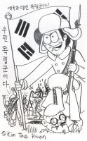 Kim Byeong Joon Becomes Independent Soldier by komi114