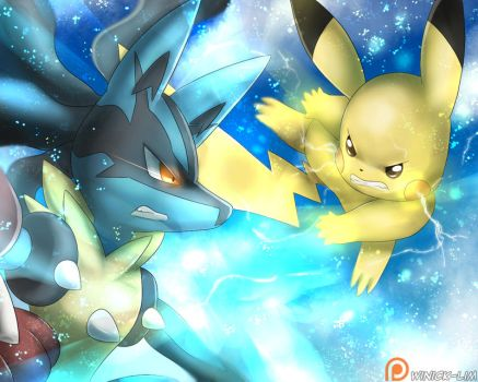Pokken Tournament by Winick-Lim
