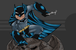 Dark Blue Knight by Atakamiwolf