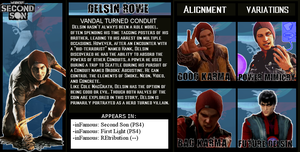 The Crossover Game: Delsin Rowe Bio by LeeHatake93