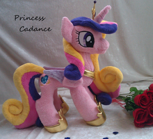 Princess Cadance Plushie by Drachefrau