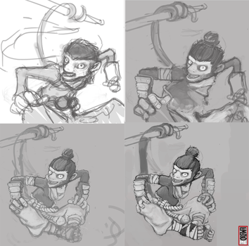 Kong Wip by Friitzie