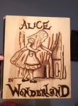 Alice in Wonderland Wood Folder by aleroman