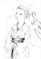 Japanese Lady by anuhesut