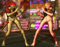SFxT Mod - Nina: Poison Ivy Cosplay by Segadordelinks