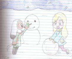 Let's Build a Snowman by BonesXPC