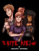 Bite Me! Teaser Poster: The Hunters by geekgirl8