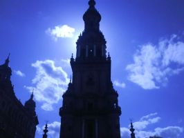 Spain square tower by MarinaManaphy