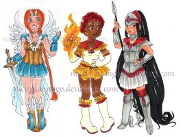 2014adopts 2 Warriors CLOSED! by nickyflamingo