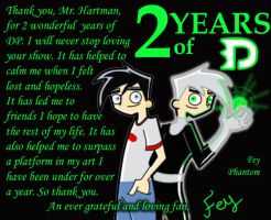 2 Year DP-versary by FeyPhantom