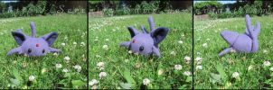 Espeon Plush by Serenity-Sama