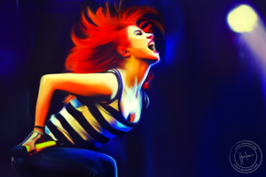Hayley Williams: Let The Flames Begin by Sixxxxx