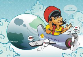 tika is pilot by fadil